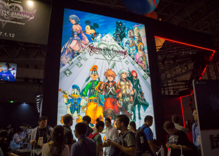 Square Enix booth