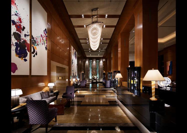 東京屈指のラグジュアリーホテル