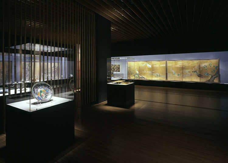 หอศิลป์ที่เน้นศิลปะย้อนยุคของญี่ปุ่น