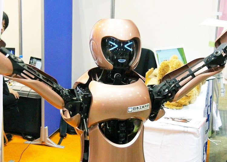 お台場でロボットの展示会「Japan Robot Week」を見てきた