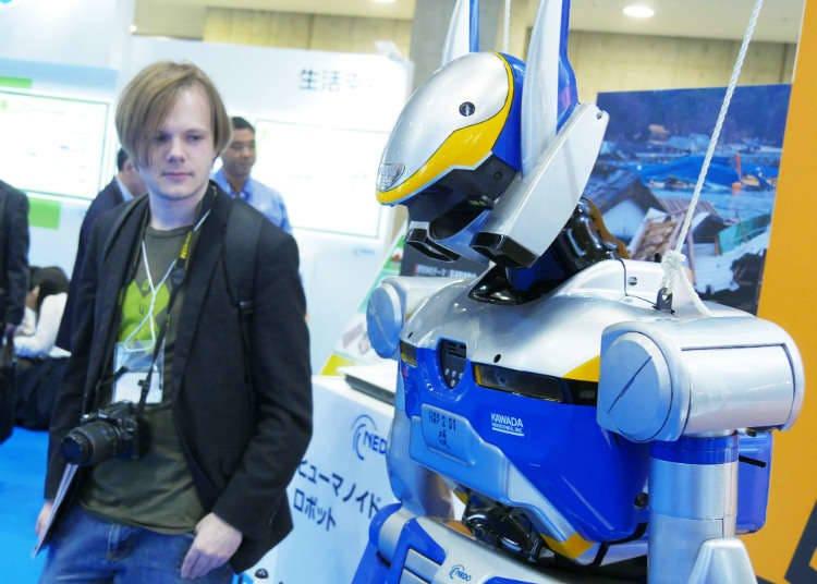 재해 시 구조 로봇