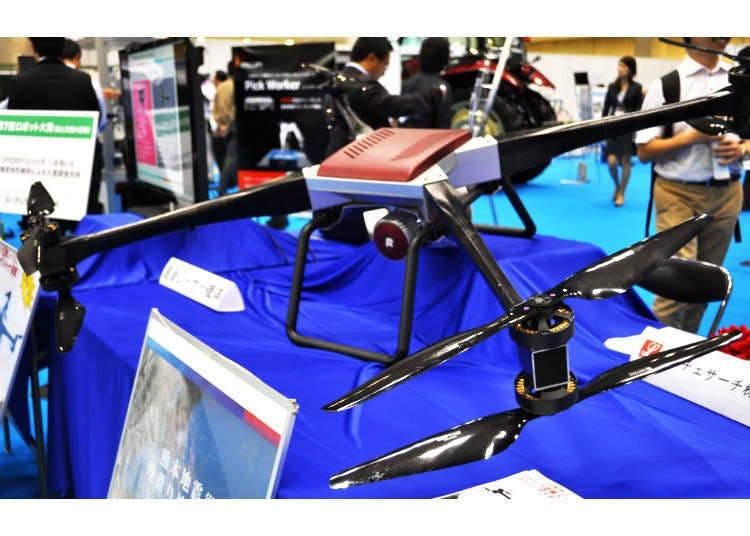 眾所矚目的「救援Drone」