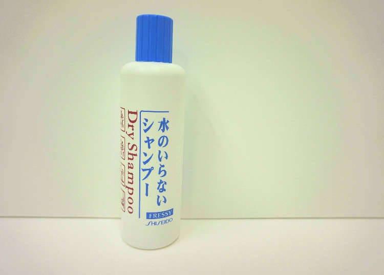 Syampu Tanpa Air Shiseido