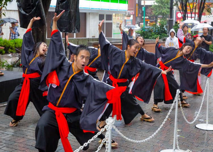 东京的人气学园祭集结于新宿做宣传!