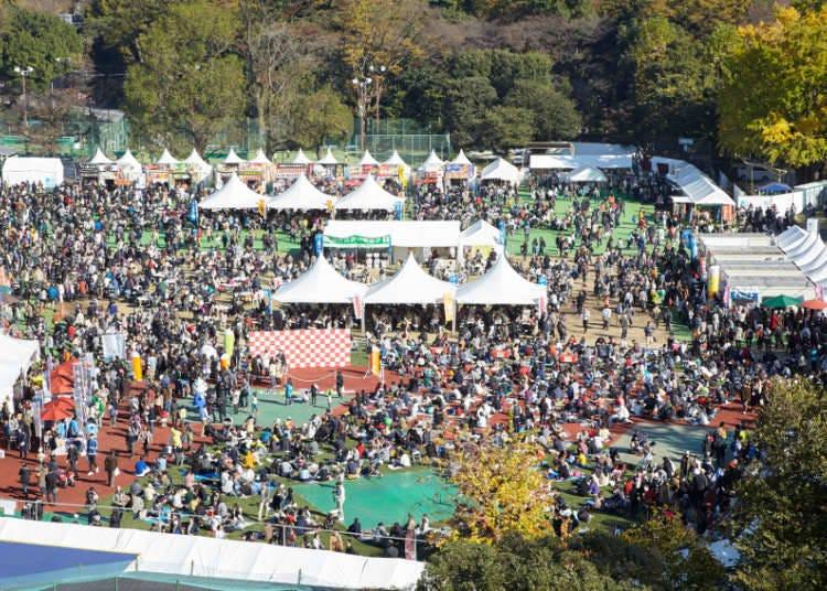진구가이엔 은행나무 축제(이초 마츠리)-2020년 중지