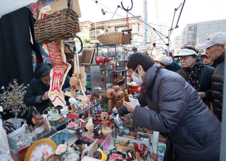東京12月份活動④世田谷舊貨市場【2020年中止】