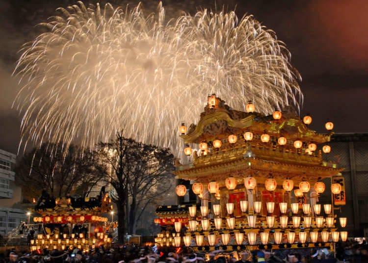 東京12月份活動⑥秩父夜祭【2020年規模縮小、僅舉行神道儀式】