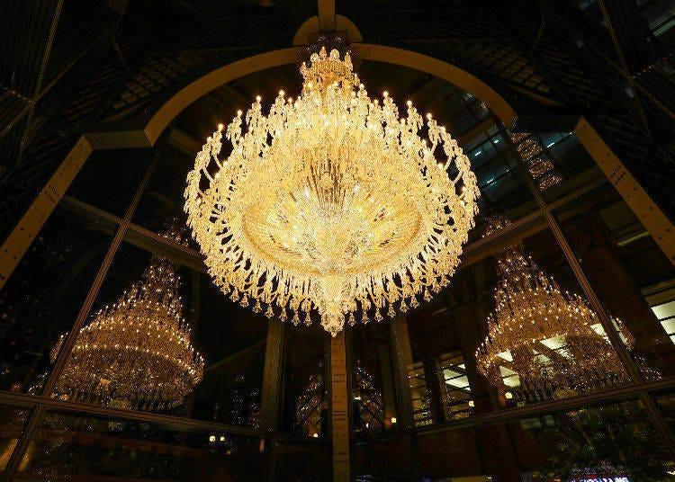 2. Bathe in the Light of Baccarat's Massive Chandelier (Nov 2 - Feb 24, 2020)