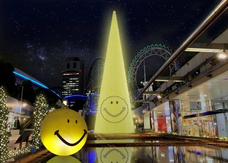 5. みんなが笑顔になれるよう願いを込めて『東京ドームシティ ウィンターイルミネーション「スマイルミ」』