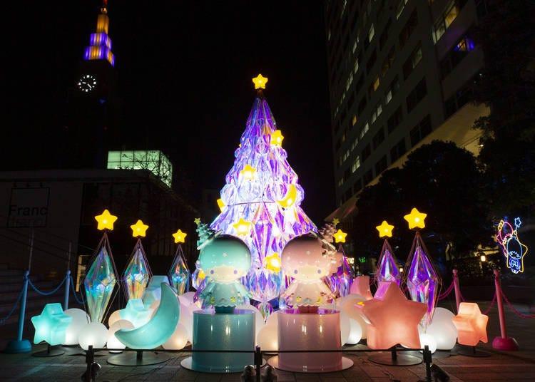 6. 키키&라라 'Little Twin Stars×신주쿠 서던 테라스 TWINKLE COLOR CHRISTMAS'