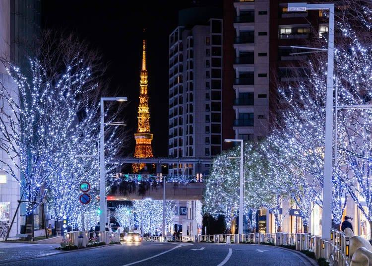 3. 六本木hills的冬季风物诗「Roppongi Hills Christmas 2020」