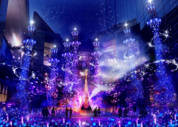 14. 與迪士尼電影為主題的夢幻燈飾秀「Caretta Illumination」【2020年取消】