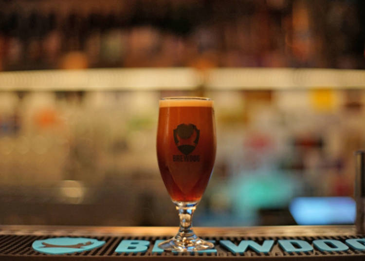BrewDog Roppongi - Draft Coffee Straight from a Beer Server