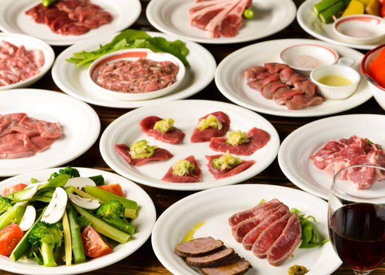 可以享用各種羊肉美食的名店