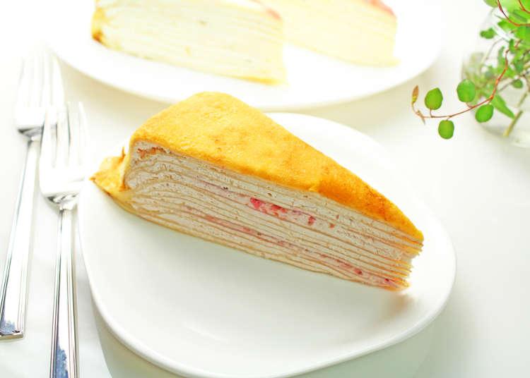 4.「ミルクレープ」はドトールが広めて日本中で愛されるスイーツに