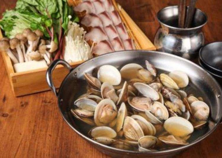 「貝鍋」を食べられるお店
