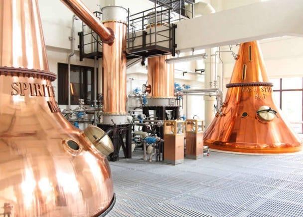 那麼SUNTORY三得利威士忌是如何釀造的呢?