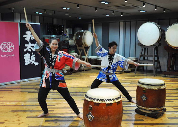[MOVIE] TAIKO-LAB에서 와다이코 (일본전통 북) 체험