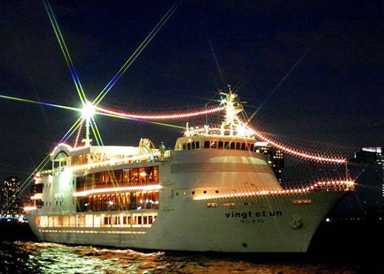 VINGT ET UN 游船 倒数迎新年之旅