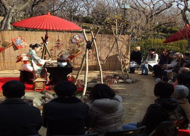 세타가야 매화나무 축제