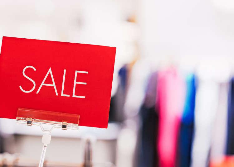 日本で買い物するならいつがいい?!買い物事情徹底紹介