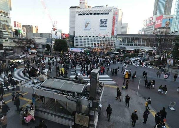Suasana Membeli-belah Di Shibuya, Harajuku, dan Omotesando: