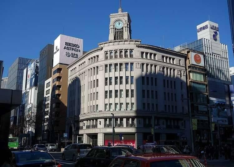 Suasana Membeli-belah Di Ginza