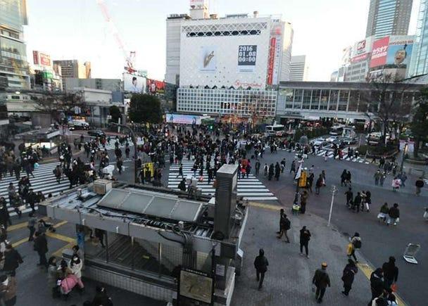 涩谷、原宿、表参道的攻略!