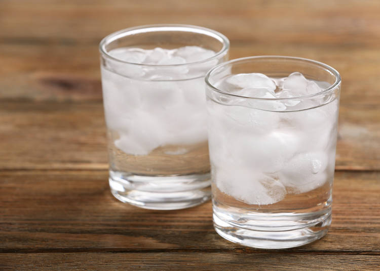 Water is Served with Ice, Throughout the Entire Year!