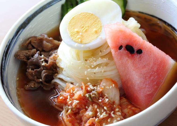 모리오카 냉면의 원조는 한국..! 해외에서 들어 온 국민 면요리 .