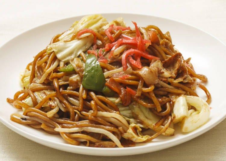 1. Sauce Yakisoba – Japan's Bold Chow Mein Creation