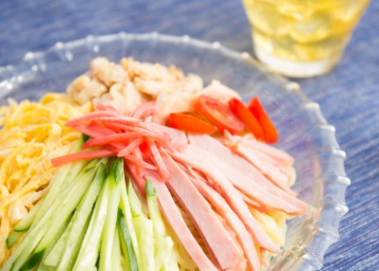 히야시츄카(일본식 중국냉면)는 센다이의 중화요리점이 만들어낸 면 요리