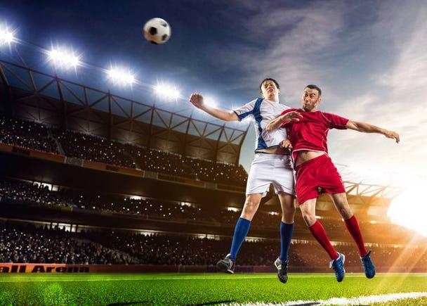 サッカー選手は2人の世界的プレーヤーに人気集中