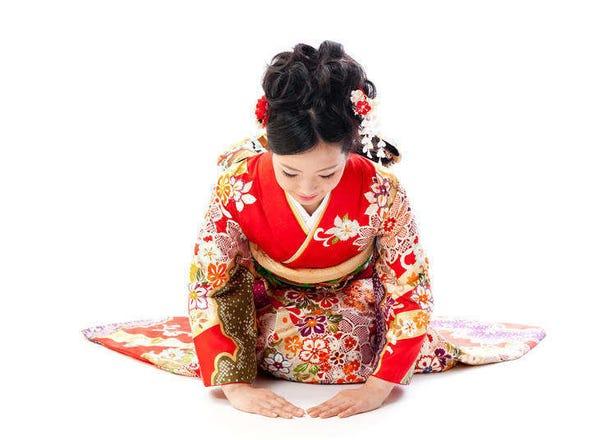 日本のお辞儀文化