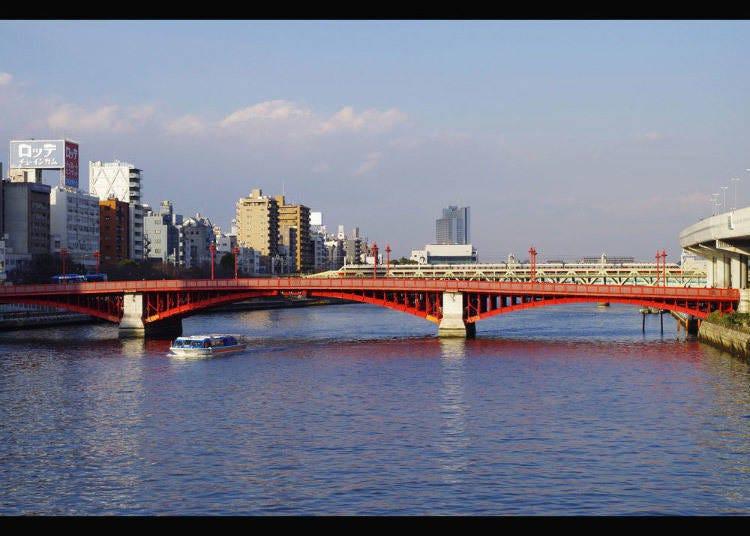 บริเวณสะพานอะสึมะบาฉิ
