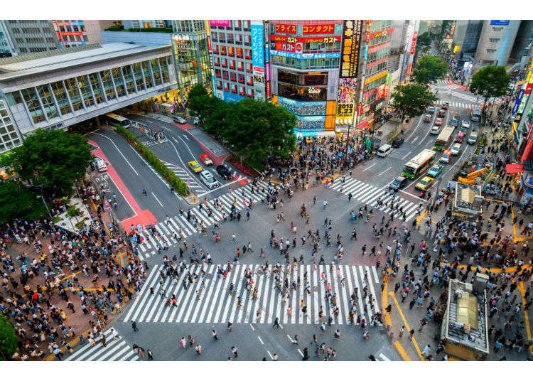[MOVIE] Tokyo Shibuya|Shibuya Station Area Map & Sightseeing Information