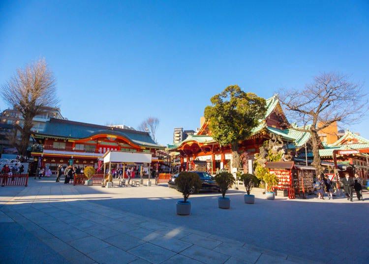 秋葉原周邊的寺廟與神社