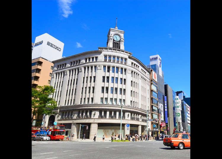 [기본은 알고가자!] 도쿄 인기 지역 '긴자' 관광명소 및 주변지도