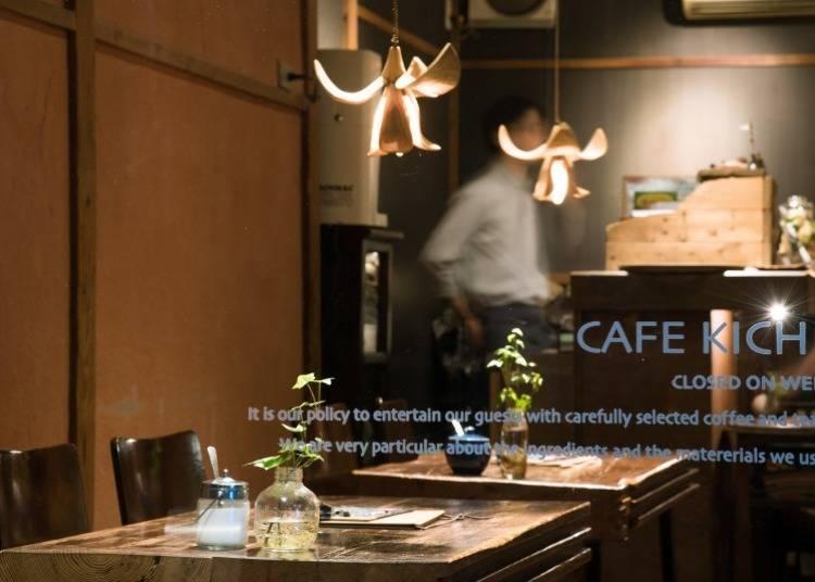 목조 단층집의 세련된 고민가 카페 KICHI