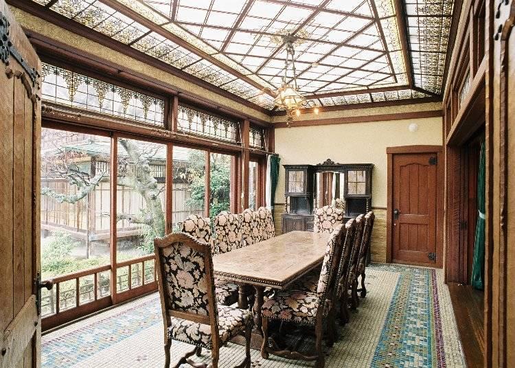完美融合日式與西洋風格的名邸「起雲閣」