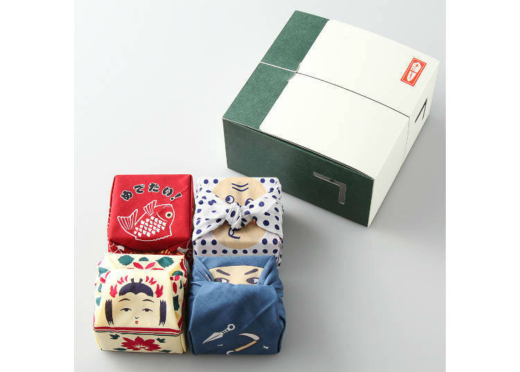 Sweet Souvenirs Wrapped in Tiny Hand Towels