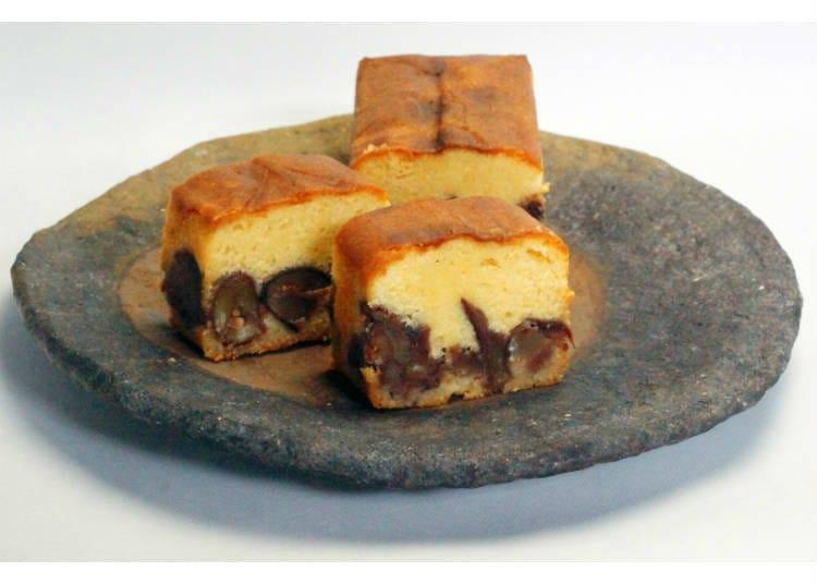 【足立音衛門】和栗蛋糕
