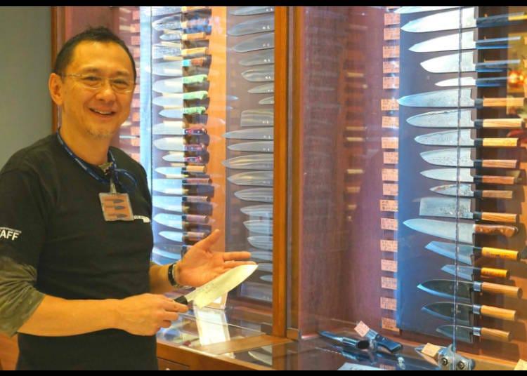 """มีดของ """"TOWER KNIVES TOKYO"""" / โตเกียวโซระมาจิ"""