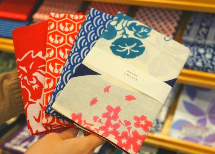 「小粹」的日本手巾/小田急新宿MYLORD