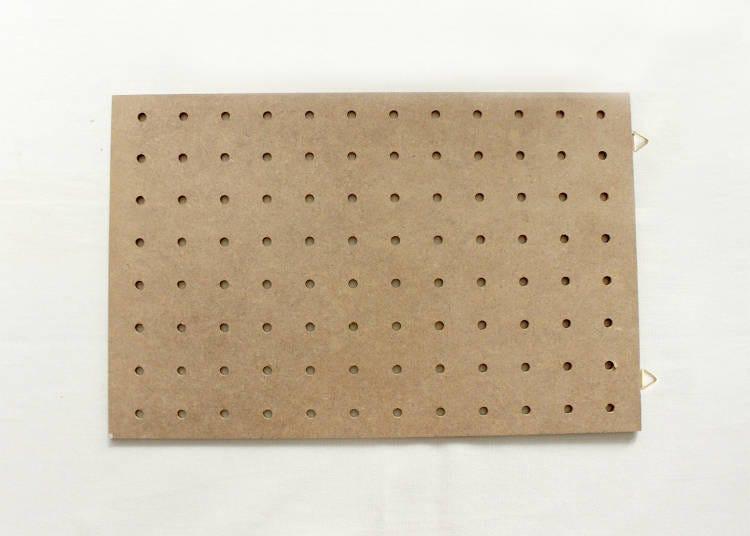 用木頭色夾板打造日系雜貨感空間吧!