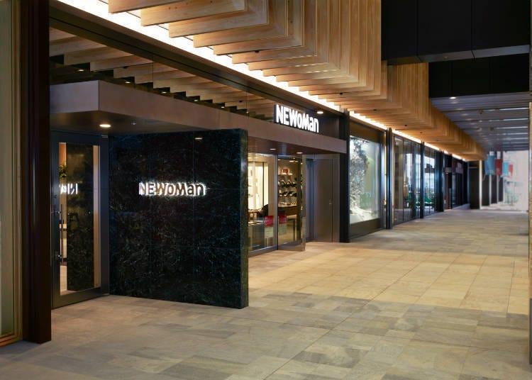 交通便捷!連結新宿車站的矚目設施「NEWoMan」