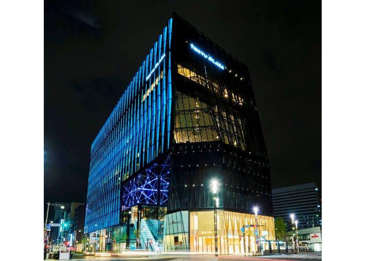 聚集各種各樣大型商業設施「銀座東急購物廣場」