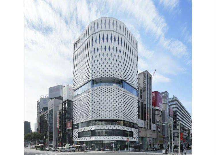 銀座的新地標「GINZA PLACE」