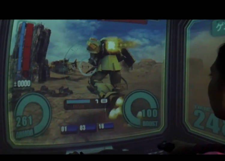 Step into the P.O.D. with Gundam!