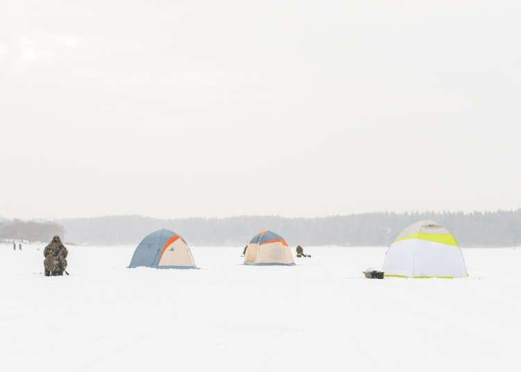 Ice Fishing in Japan: Wakasagi Tsuri